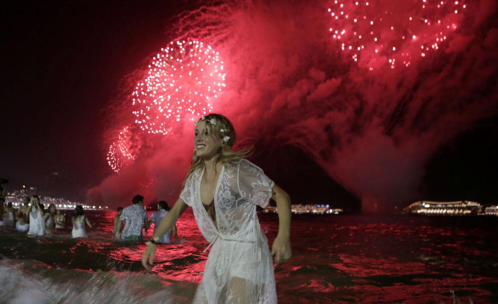 里約熱內盧慶祝新年