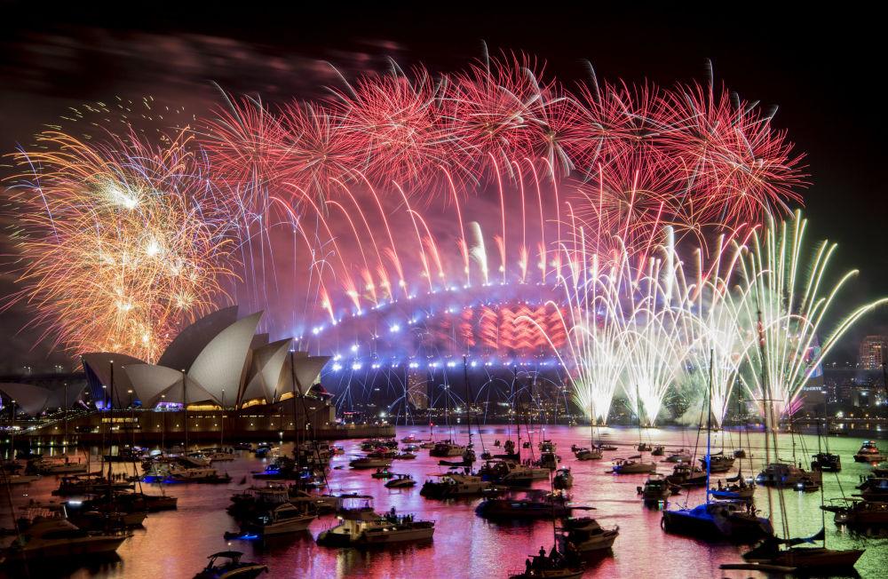 悉尼的新年煙火
