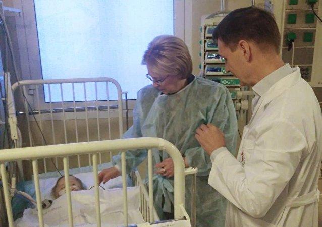 俄卫生部长:燃气爆炸事件中获救婴儿无生命危险
