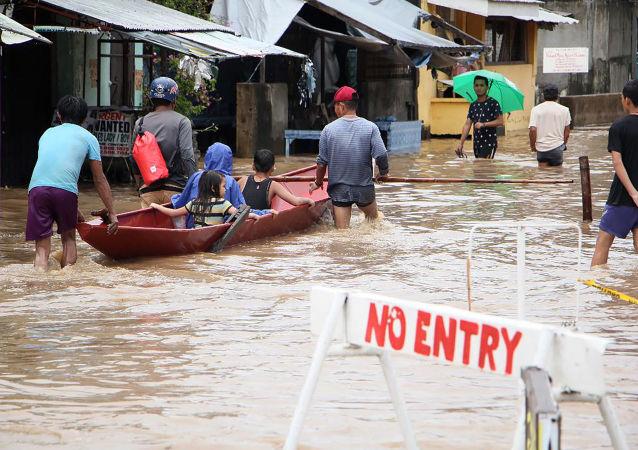 媒体:菲律宾暴雨和滑坡遇难人数已升致85人