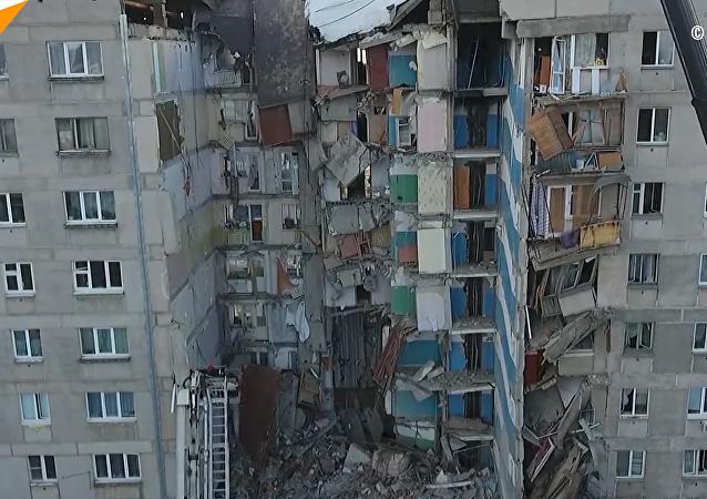 俄紧急情况部:马格尼托戈尔斯克居民楼爆炸事件死亡人数升至37人