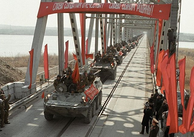 苏联军队撤出阿富汗