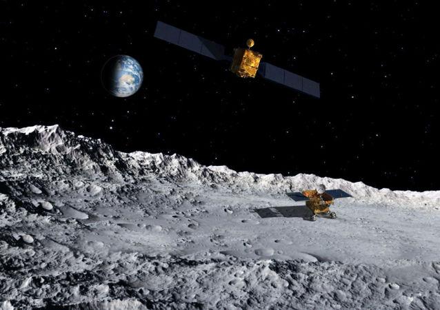 中國嫦娥四號探測器成功登陸月球背面