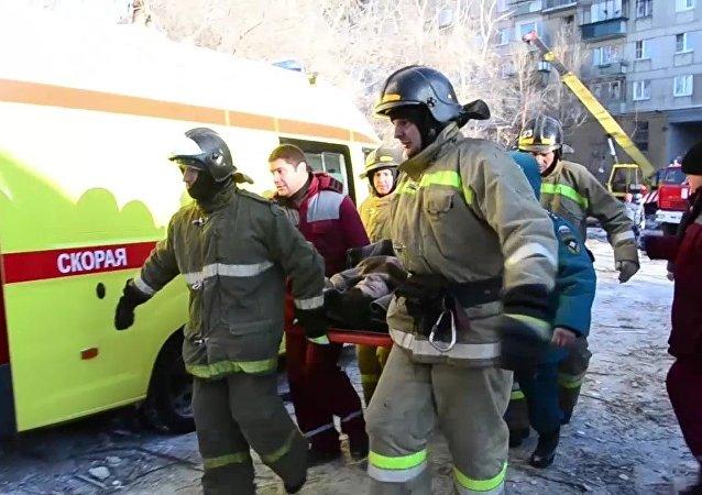俄緊急情況部:馬格尼托戈爾斯克市爆炸事件死難者遺體全部辨識完畢
