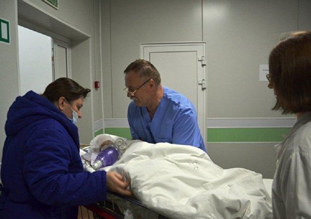 俄衛生部:馬格尼托戈爾斯克燃氣爆炸事件中獲救嬰兒的病情有所好轉