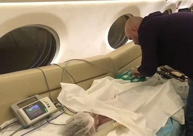 俄卫生部:马格尼托戈尔斯克燃气爆炸事件中获救婴儿情况稳定