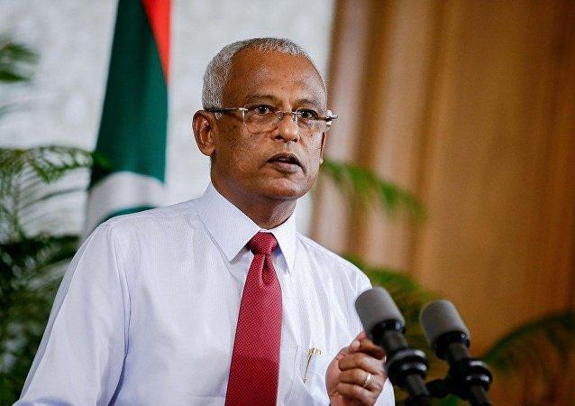 马尔代夫总统萨利赫