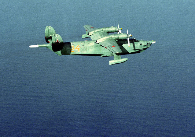 反潛兩棲飛機Be-12機群