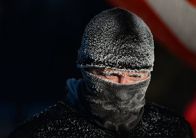 一名意大利人在雅库特零下52度的天气条件下跑了近40公里