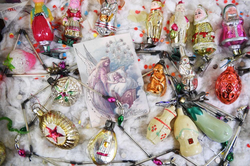 俄罗斯图拉上世纪的新年装饰展