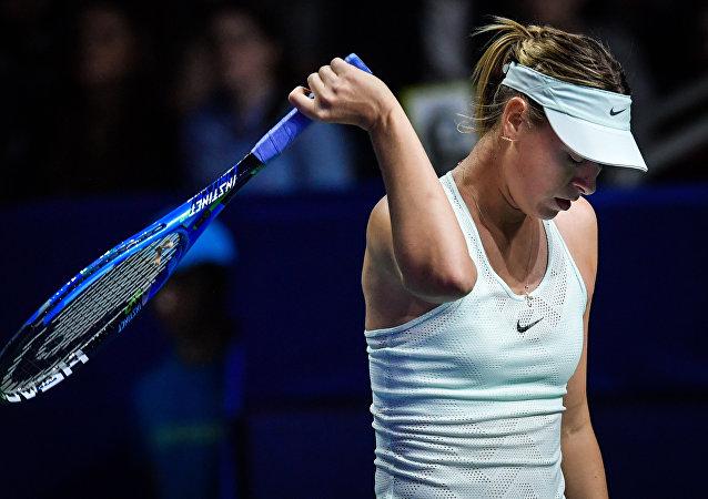 俄罗斯网球运动员玛利亚·莎拉波娃