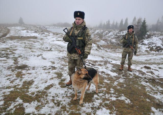 烏克蘭邊防軍人