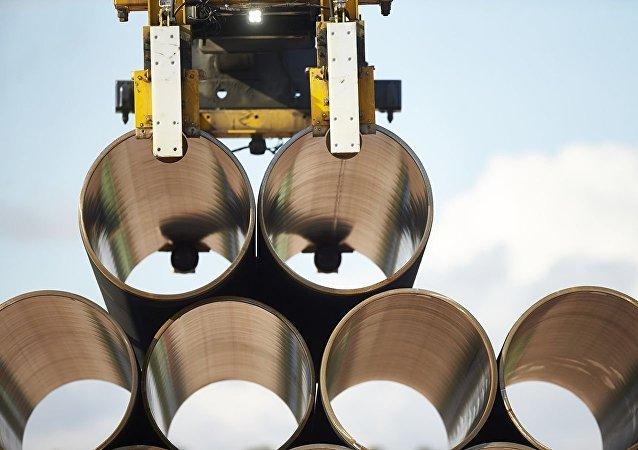 """俄经发部长:德国认为欧盟天然气指令修正案不会阻碍""""北溪-2""""项目落实"""