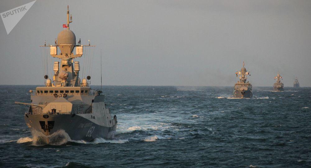 俄裡海艦隊