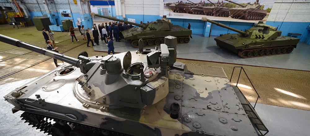 现代化伞兵战斗车BMD-4M