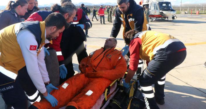 土耳其沿岸沈沒貨輪13名船員中沒有俄羅斯公民
