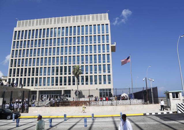 美国大使馆在古巴