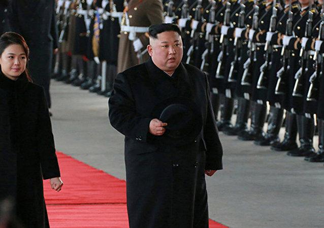 朝鲜领导人金正恩访华
