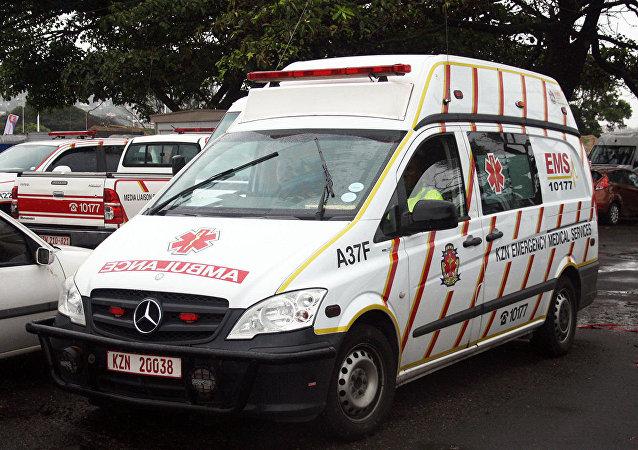 南非救护车(资料图片)