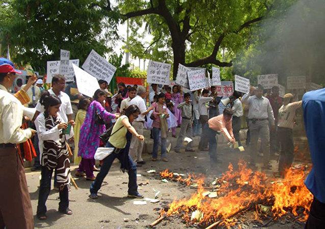 印度抗议活动