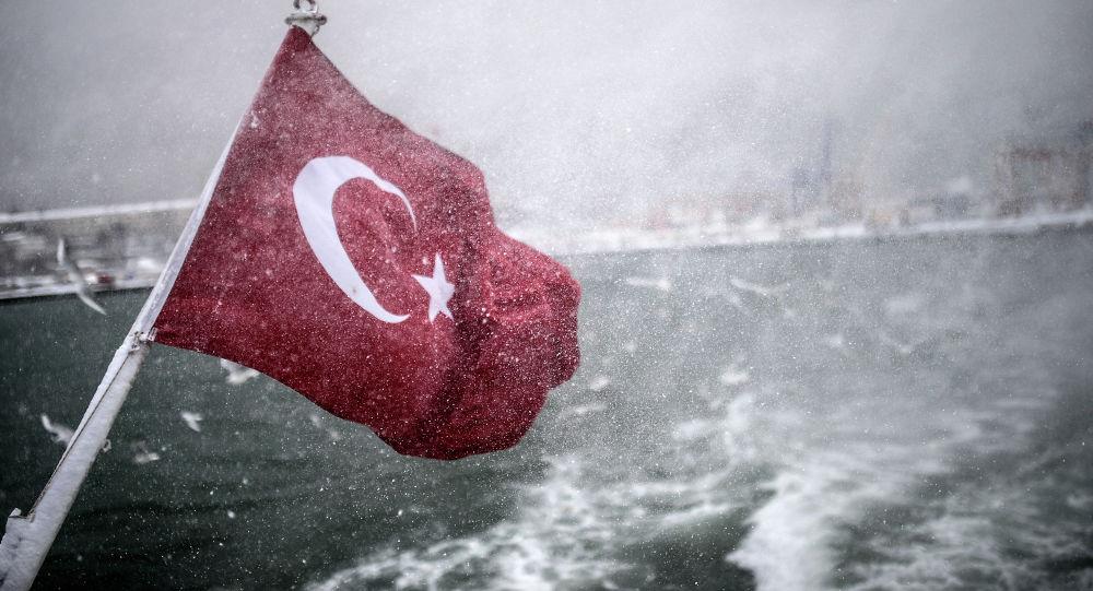 视频展示土耳其导弹攻击船只
