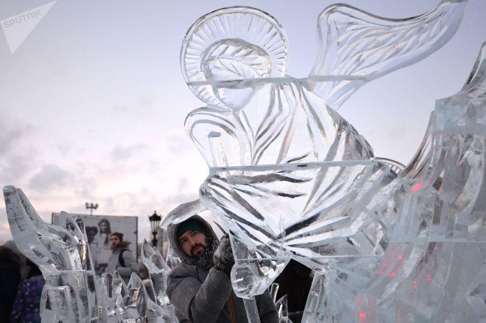 叶卡捷琳堡冰雕节