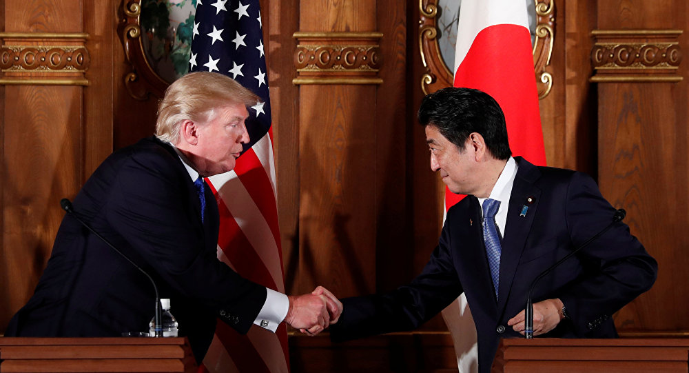 特朗普:美國計劃簡化向日本和其他盟國銷售武器的程序
