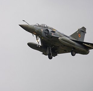 幻影2000D战斗机在法国东部坠毁