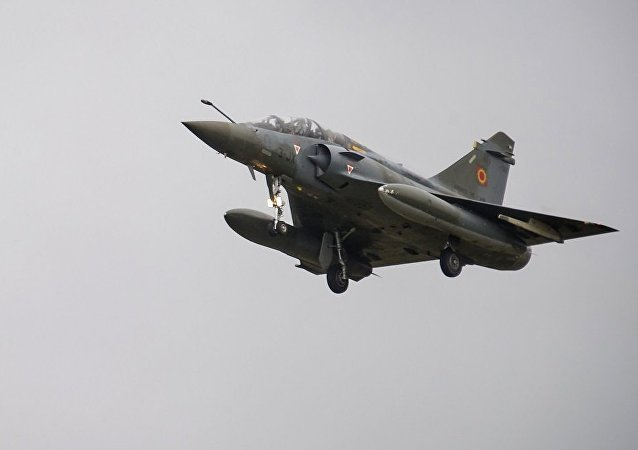 法國一架幻影2000D戰鬥機