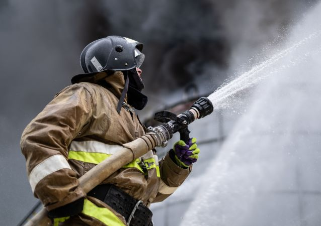 俄沃羅涅日州一彈藥銷毀場發生火災