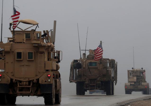 美國軍隊在敘利亞