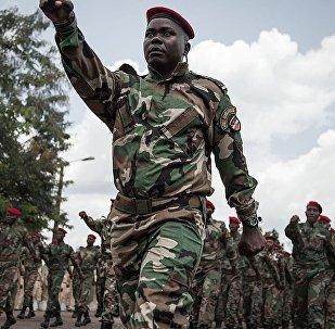 中非共和國防長:俄教官已訓練1300名中非軍人