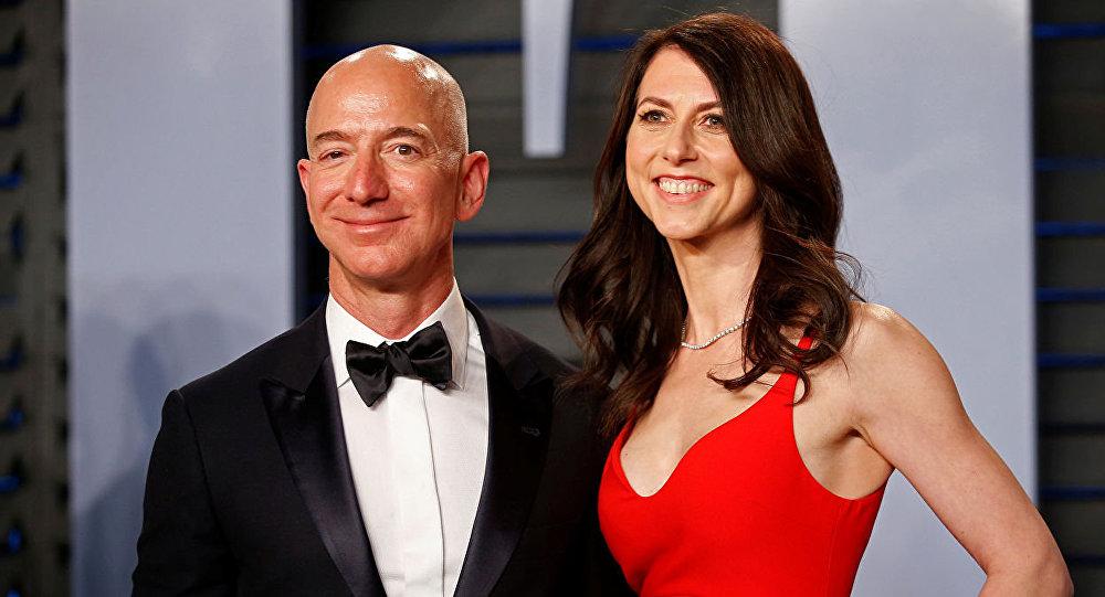 亚马逊老板离婚:付给自己妻子创纪录的350亿美元分手费