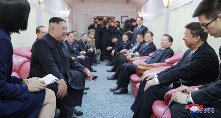 韓國國安委員會積極評價金正恩訪華結果