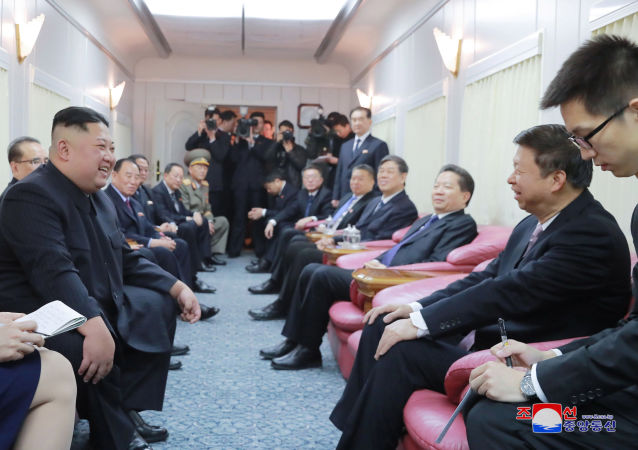 韩国国安委员会积极评价金正恩访华结果