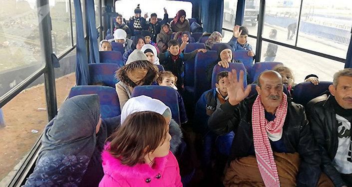 7000名敘利亞難民從約旦返回家園