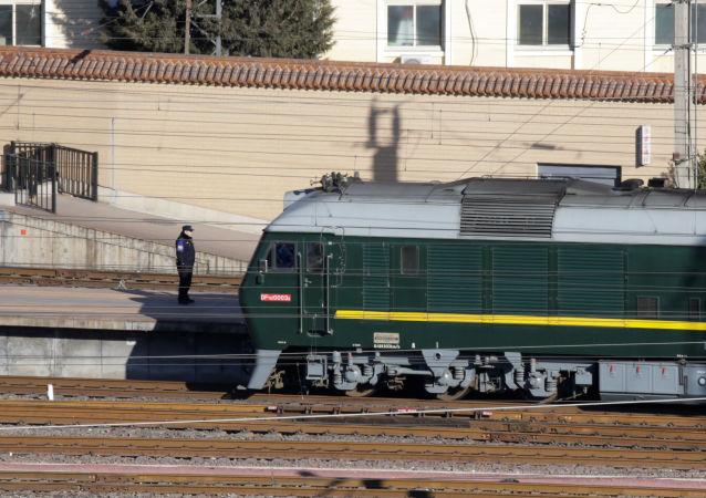 金正恩火车