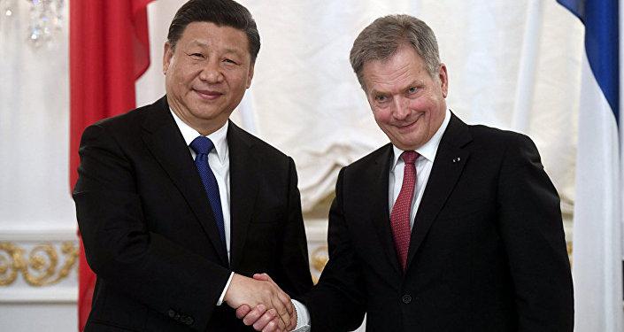 中國與芬蘭加強北極夥伴關係