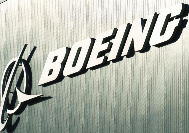 Логотип компании Boeing