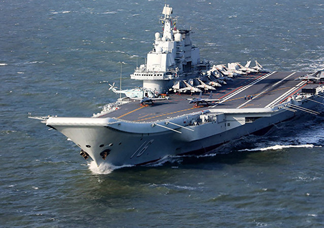 Liaoning, currently only China's aircraft carrier