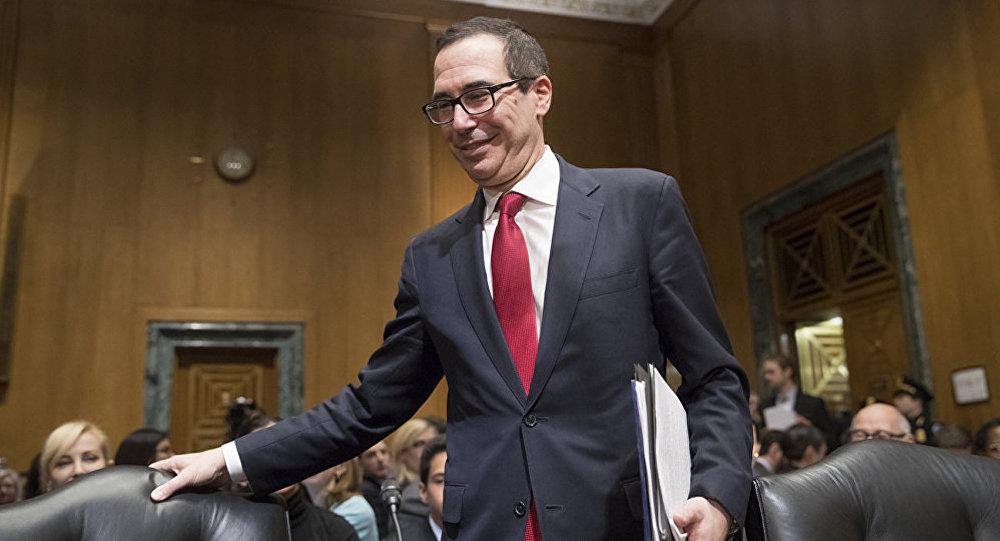 美國財長:希望美中元首能在6月底舉行會晤