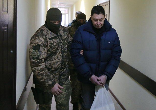 「俄新社烏克蘭」網站負責人基里爾∙維辛斯基