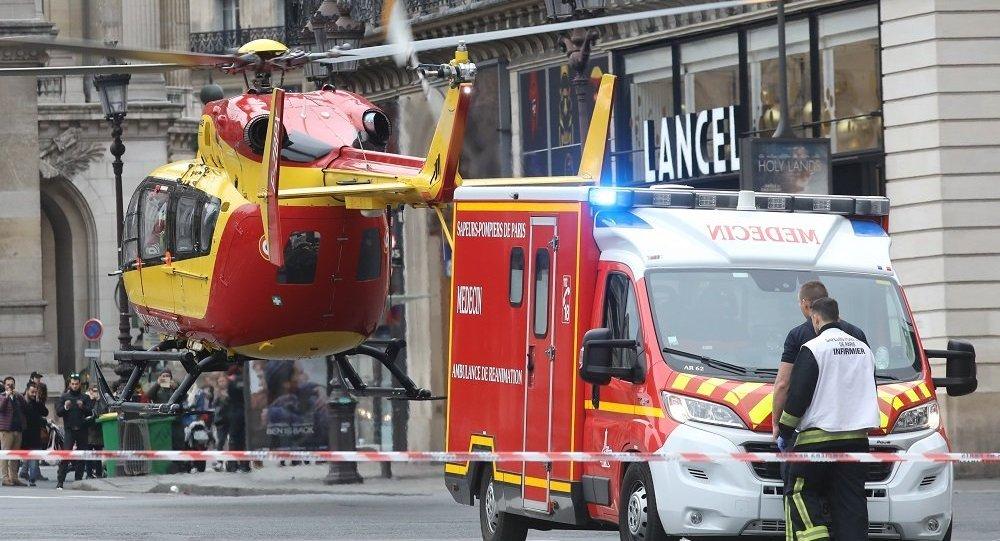 巴黎市中心发生爆炸20人受伤