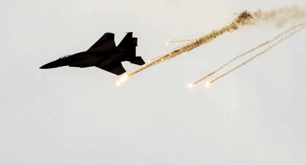 以军方:以色列空军对哈马斯两处地下基础设施发动袭击