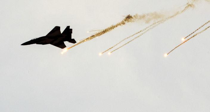 以軍方:以色列空軍對哈馬斯兩處地下基礎設施發動襲擊