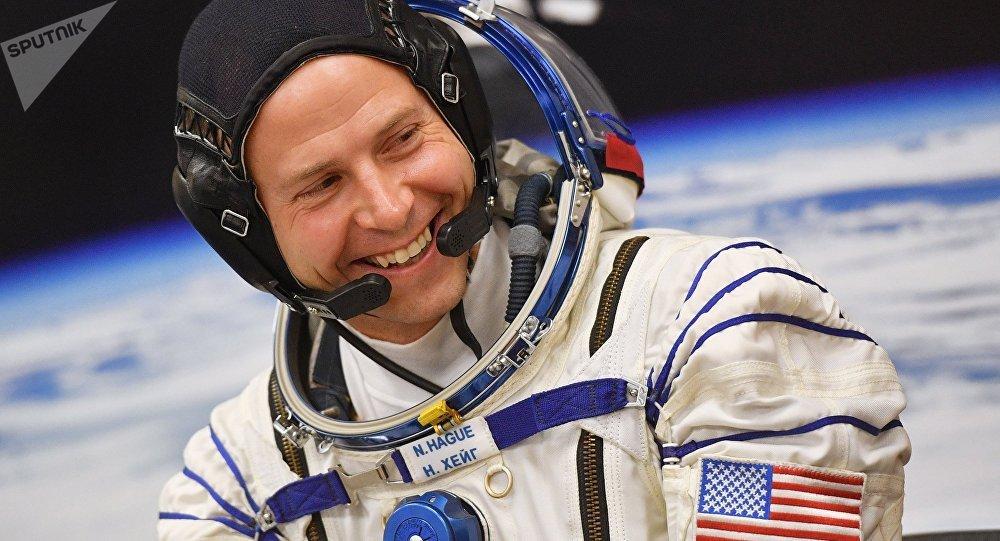 美國國家航空航天局的宇航員尼克·黑格