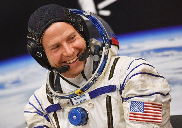 美国国家航空航天局的宇航员尼克·黑格