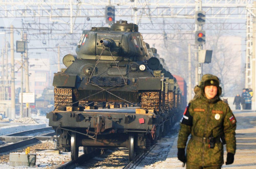 T-34坦克返回俄罗斯