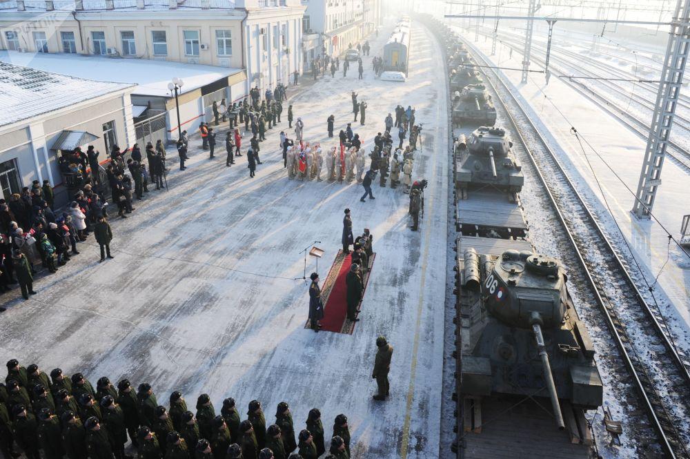 T-34坦克返回俄羅斯