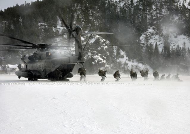 美國軍在北極地區